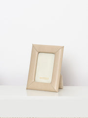 Beige Leather Frame