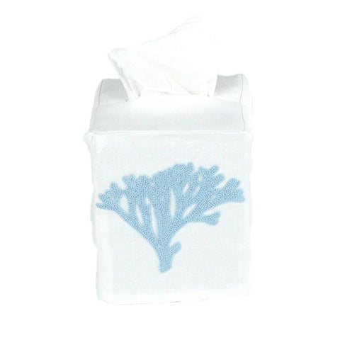 Blue Coral Tissue Cover
