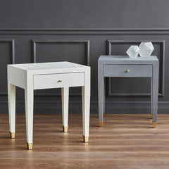 Clementine Side Table White