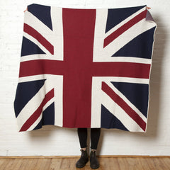 Union Jack Cotton Throw