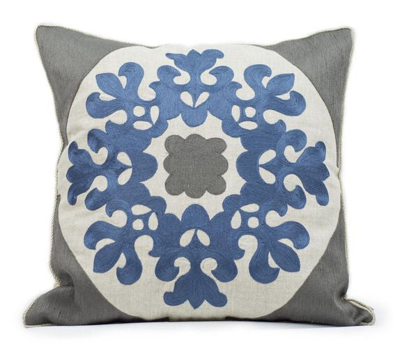 Ankasa Grey Arri Motif Pillow