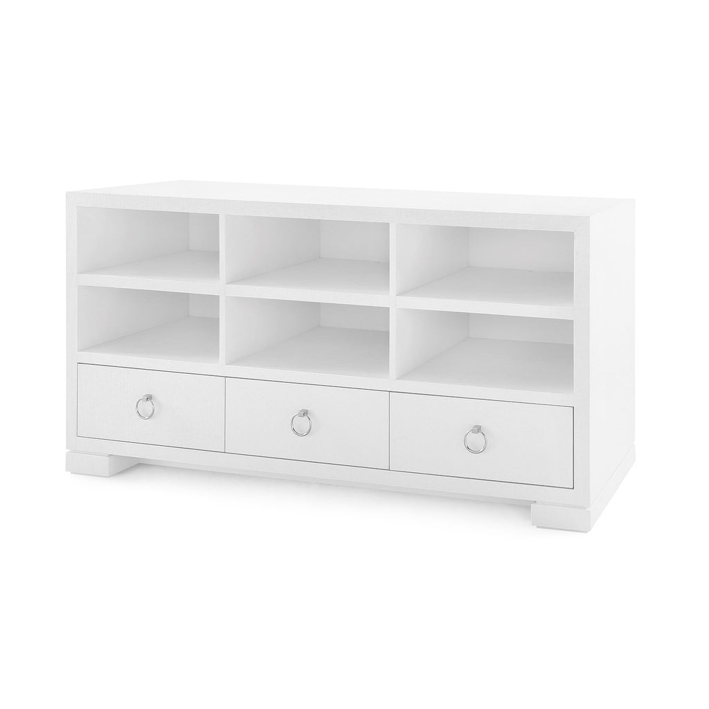 South Beach Cabinet - White