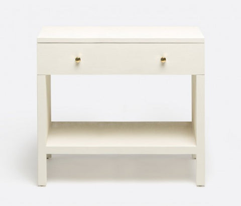 Maris Double Nightstand - White