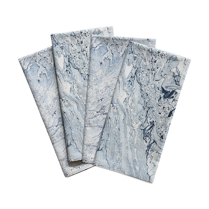 Marble Blues Cotton Napkin
