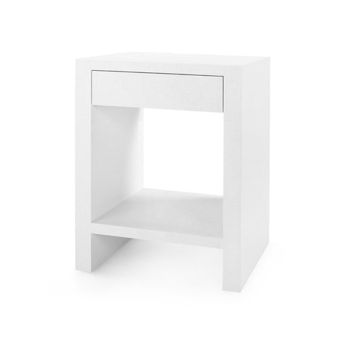Capri Grasscloth Side Table