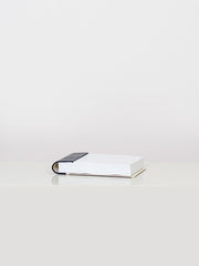 Navy Leather Notepad