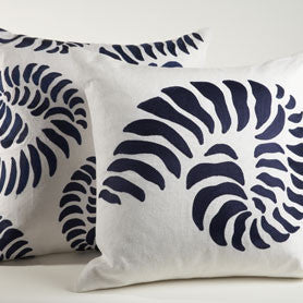 Ankasa Navy Conch Pillow