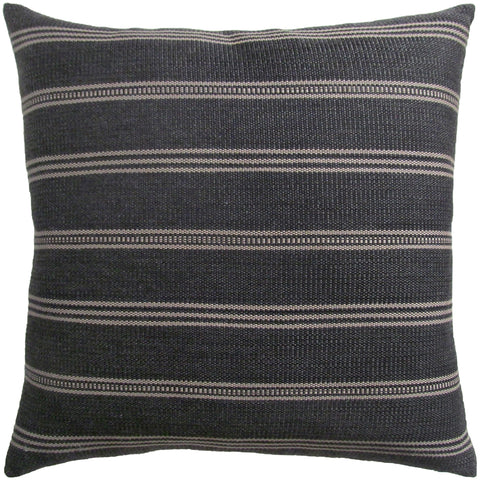 Ojai Graphite Outdoor Pillow