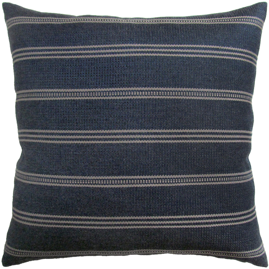 Ojai Navy Outdoor Pillow
