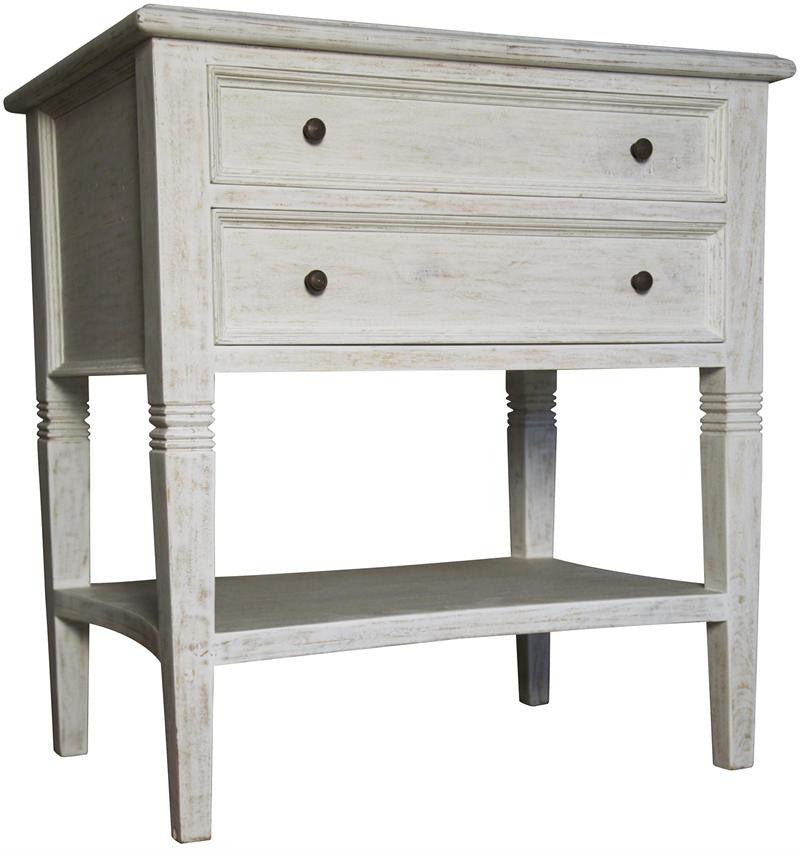 Oxford 2-Drawer Side Table