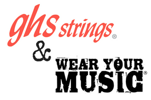 GHS Strings And Wear Your Music Announce Partnership