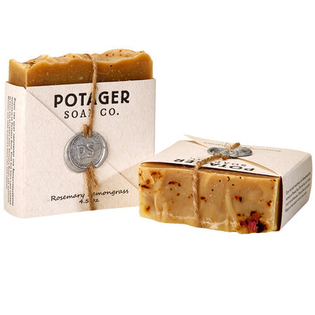 Rosemary Lemongrass bar soap
