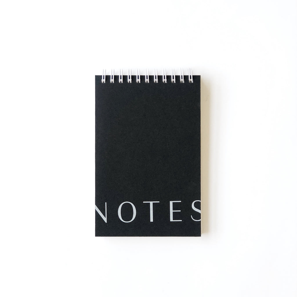 Black Notes Jotter