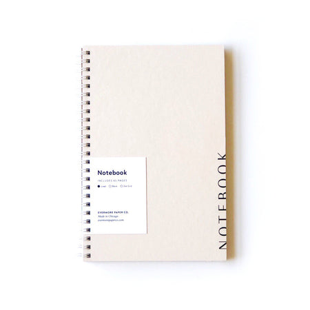 Buff Lined Notebook
