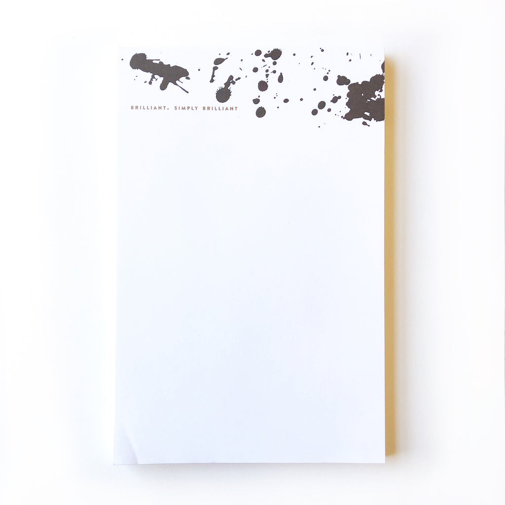 Brilliant Simply Brilliant Notepad