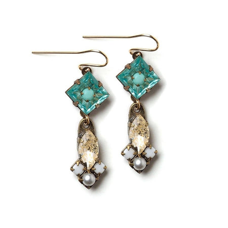 Blue Brook Earrings