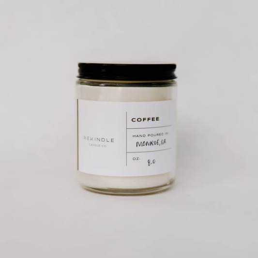 Mini Coffee Candle, 4 oz