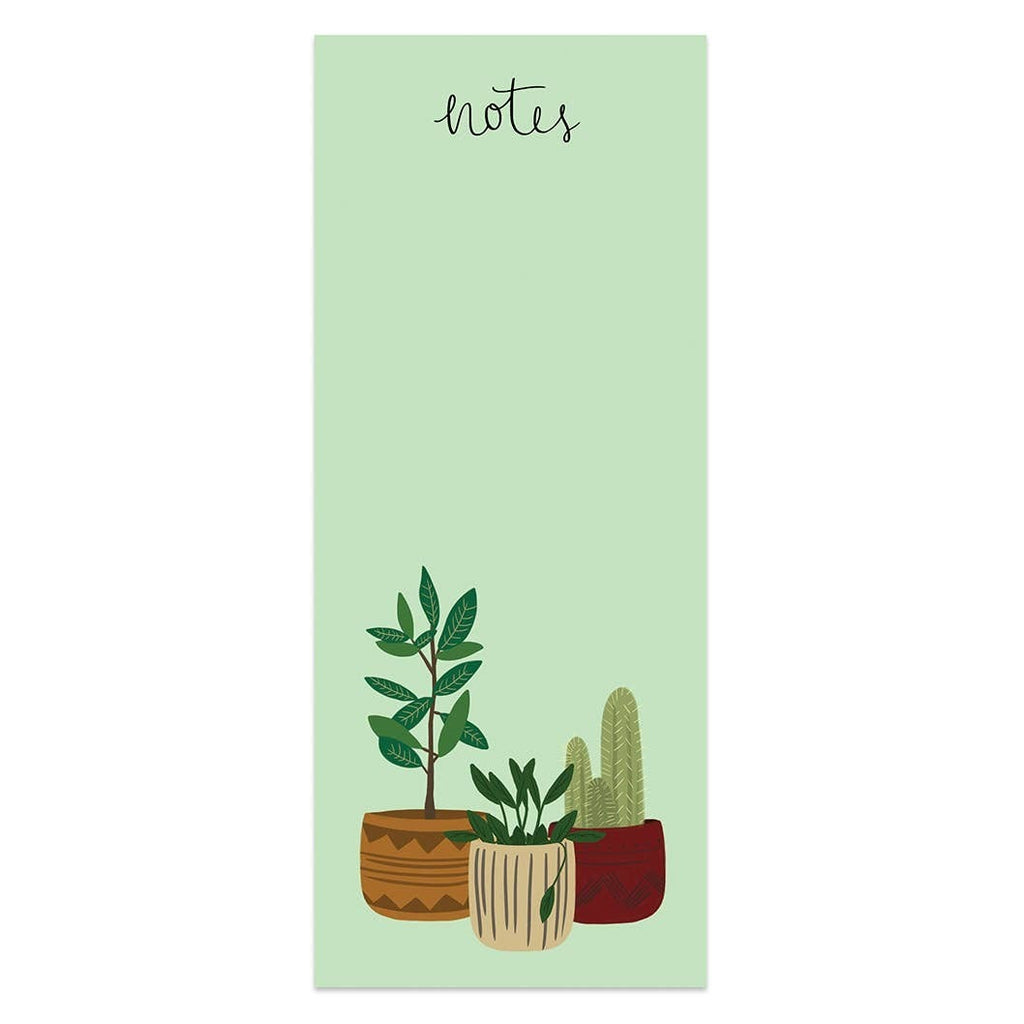 Potted Plants Notes Notepad