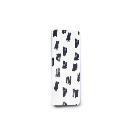 Black & White Paint Swatch Slim Notebook