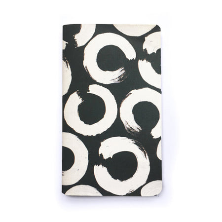 Black & White Swirl Notebook