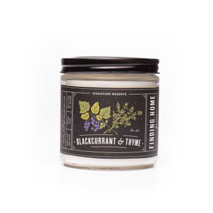 Black Currant & Thyme candle