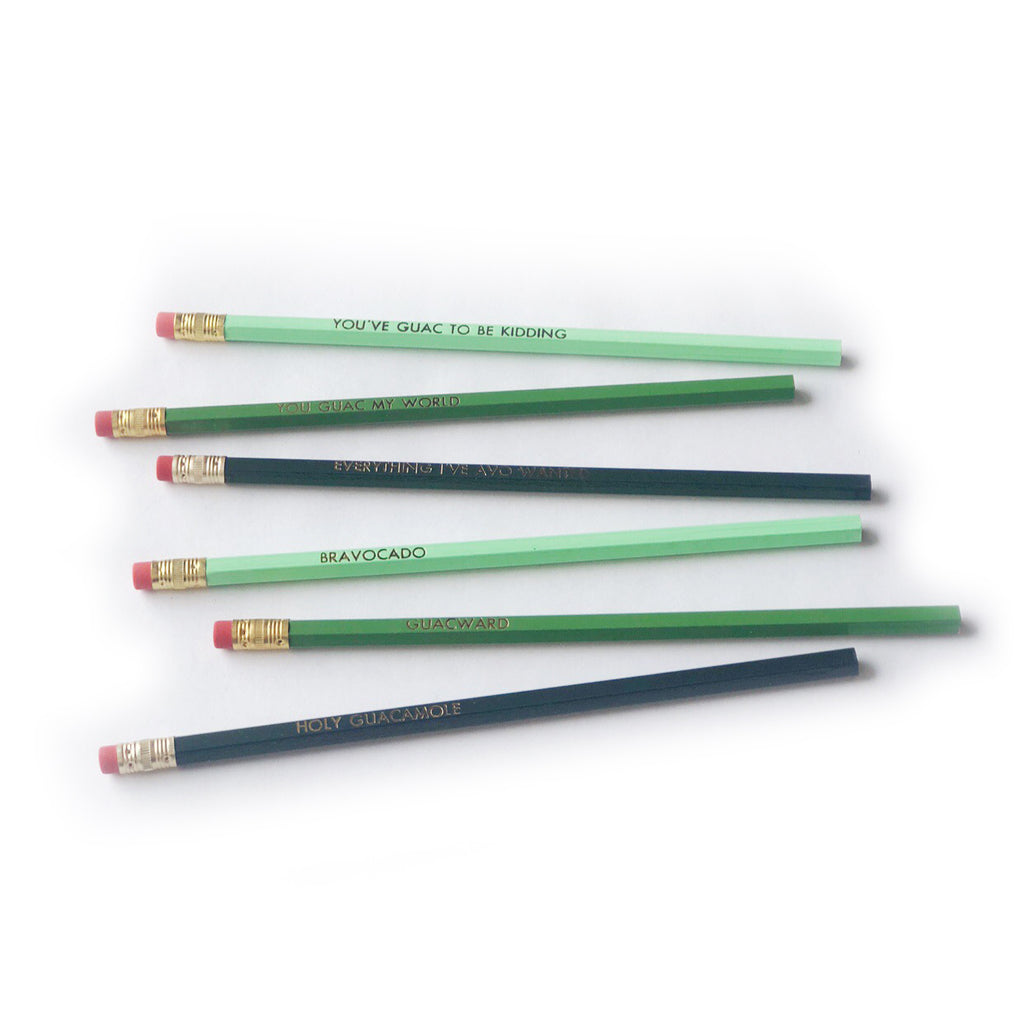 Bravocado pencil set