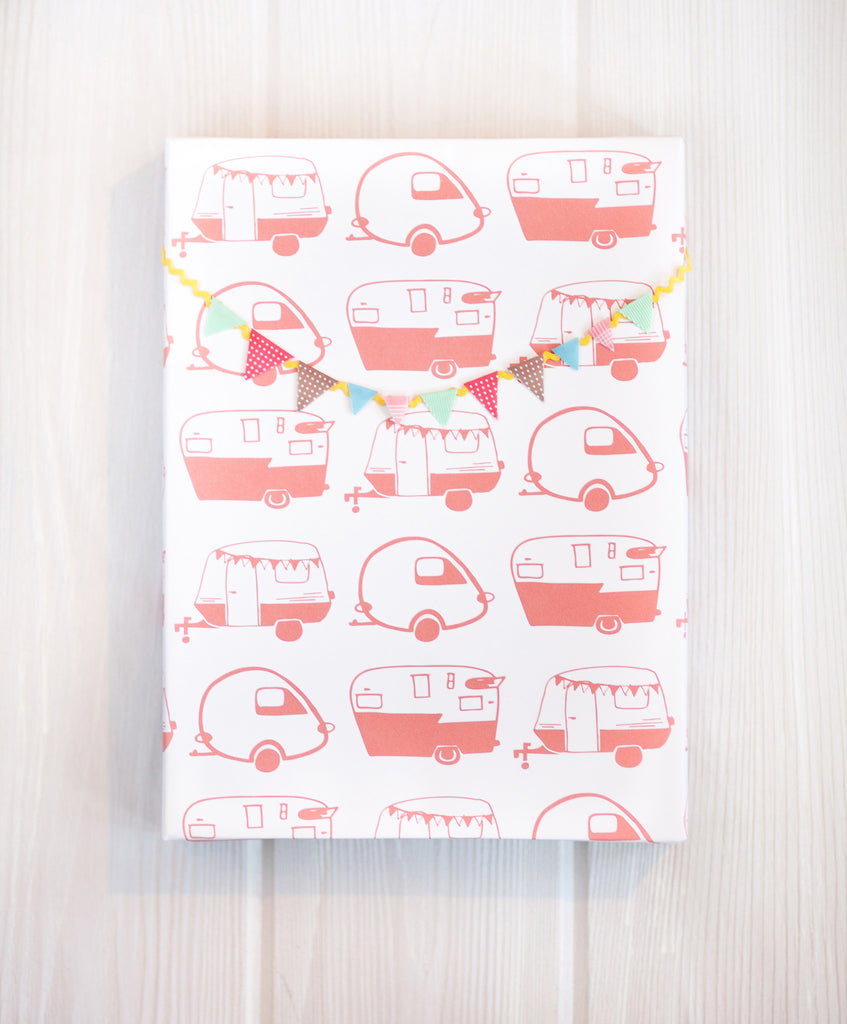 Campers Gift Wrap