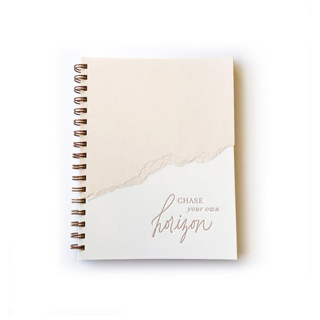 Chase Your Own Horizon notebook