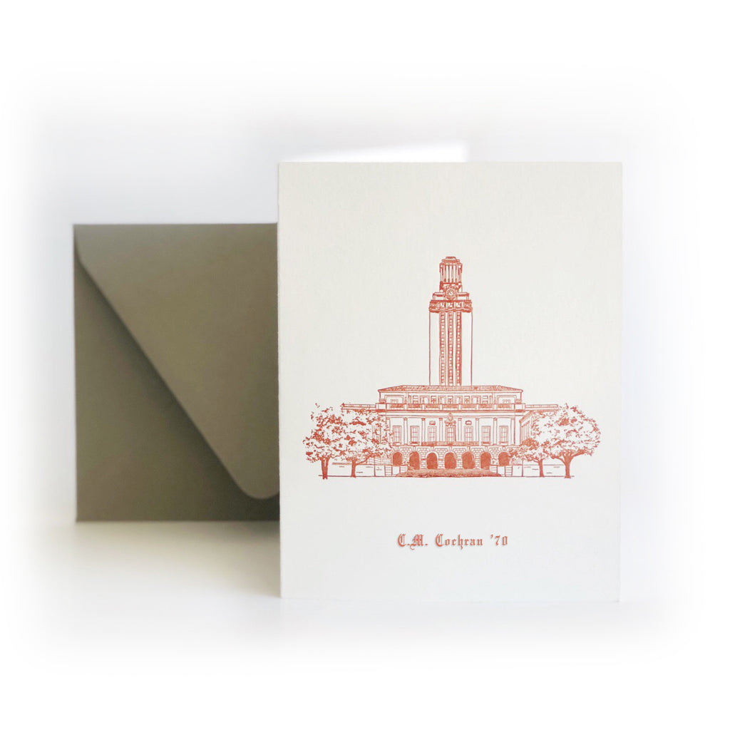 CUSTOM University of Texas boxed set