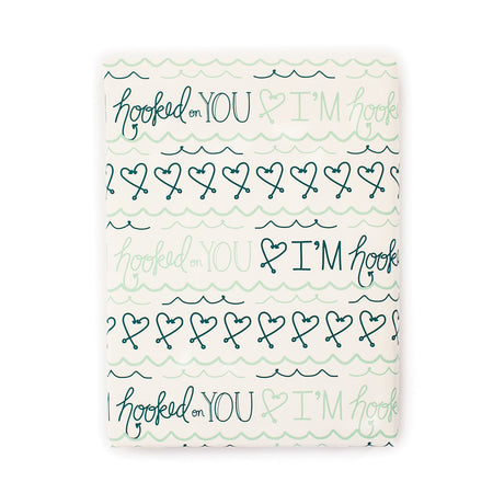 I'm Hooked on You Gift Wrap