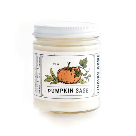 Pumpkin Sage candle, 7.5 oz
