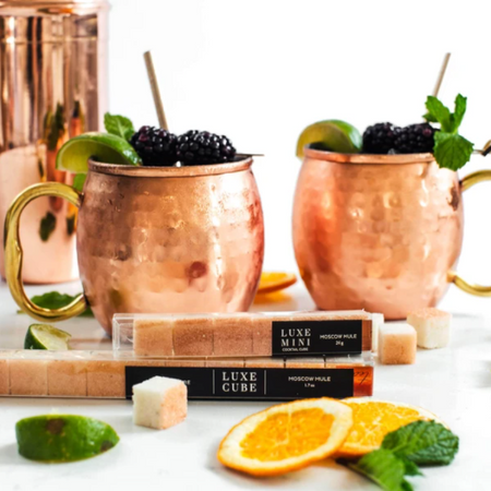 Moscow Mule Sugar Cubes