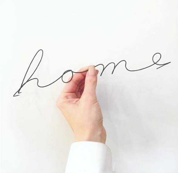 Home wire word