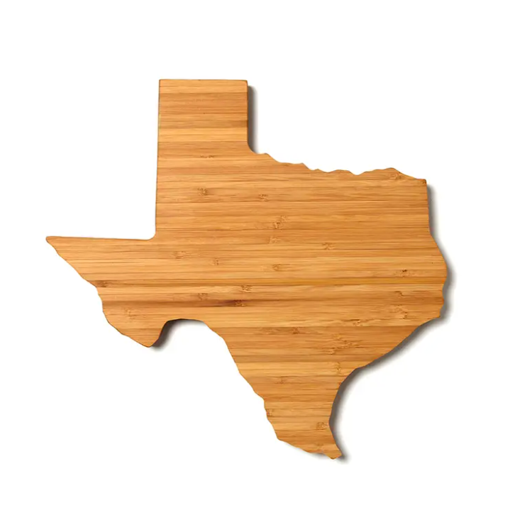 Brass Heart Texas Cutting Board