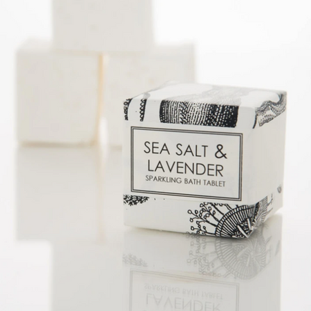 Sea Salt & Lavender Bath Cube