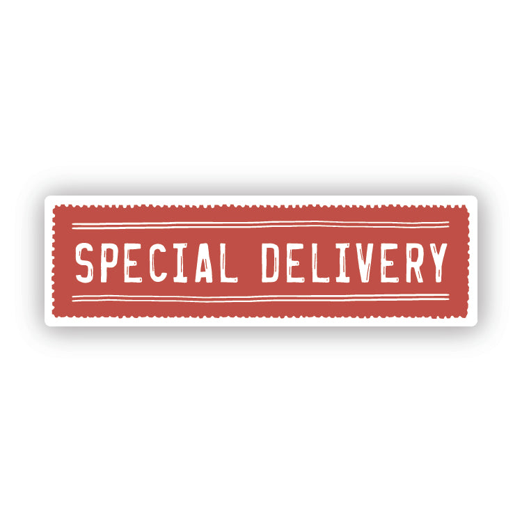 Special Delivery sticker set