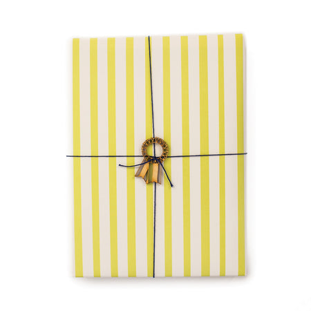 Stripes green Gift Wrap