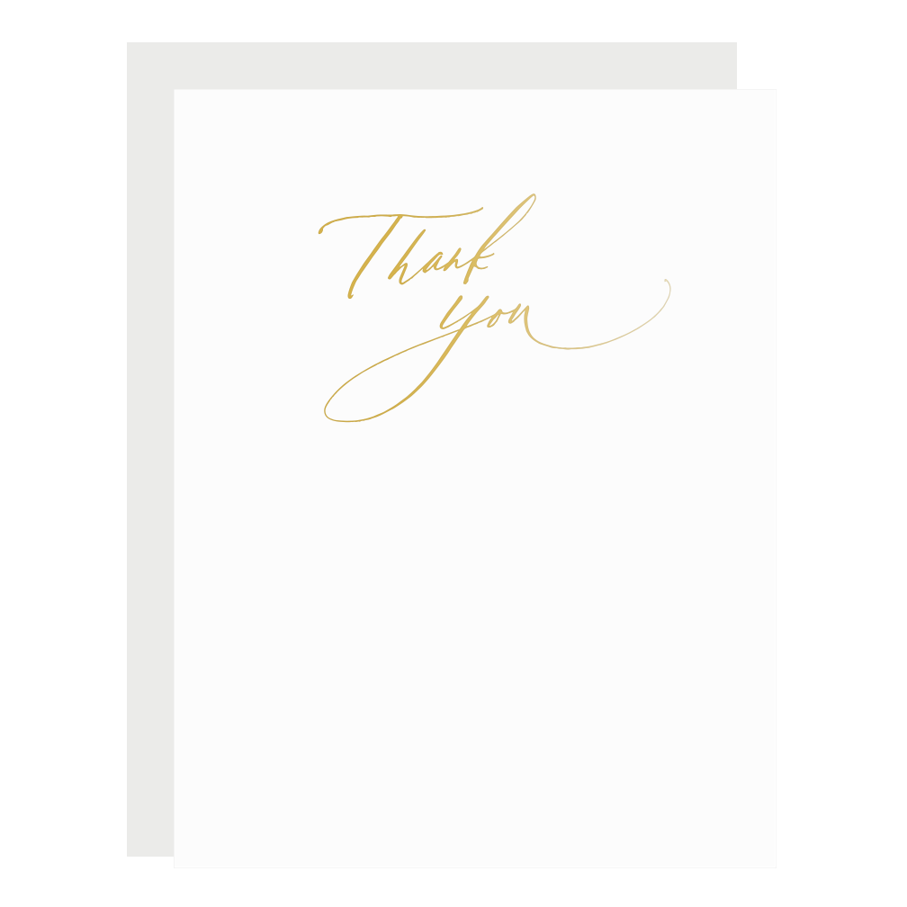 Scripted Thank You, Gold, Boxed Set
