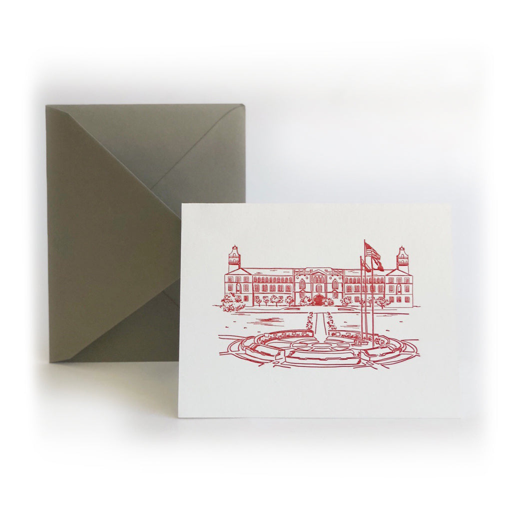 Texas Tech University® card boxed set