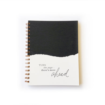 Turn the Page notebook
