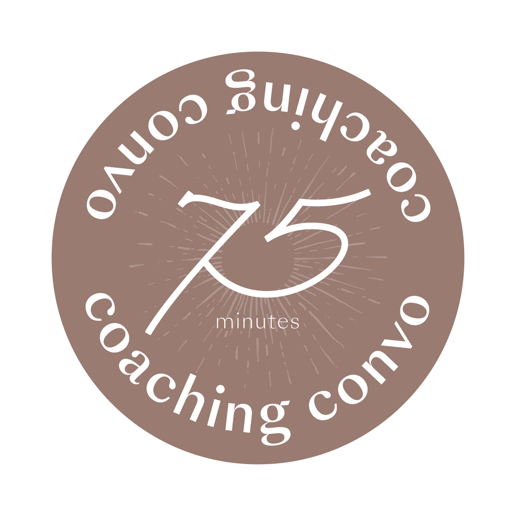 75 minute Coaching Convo