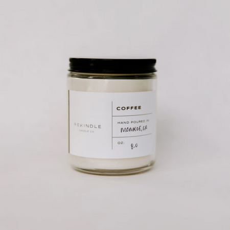 Coffee candle, 8 oz
