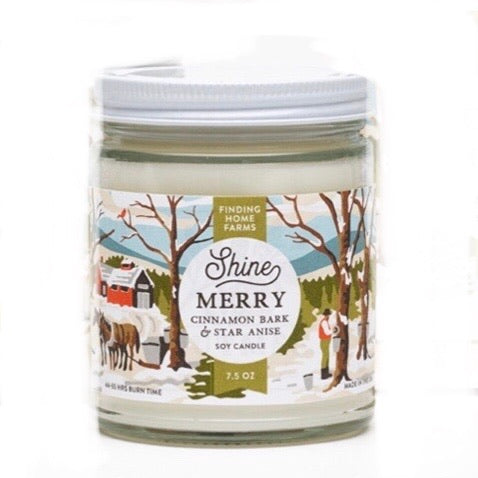 Shine Merry Candle, 7.5 oz