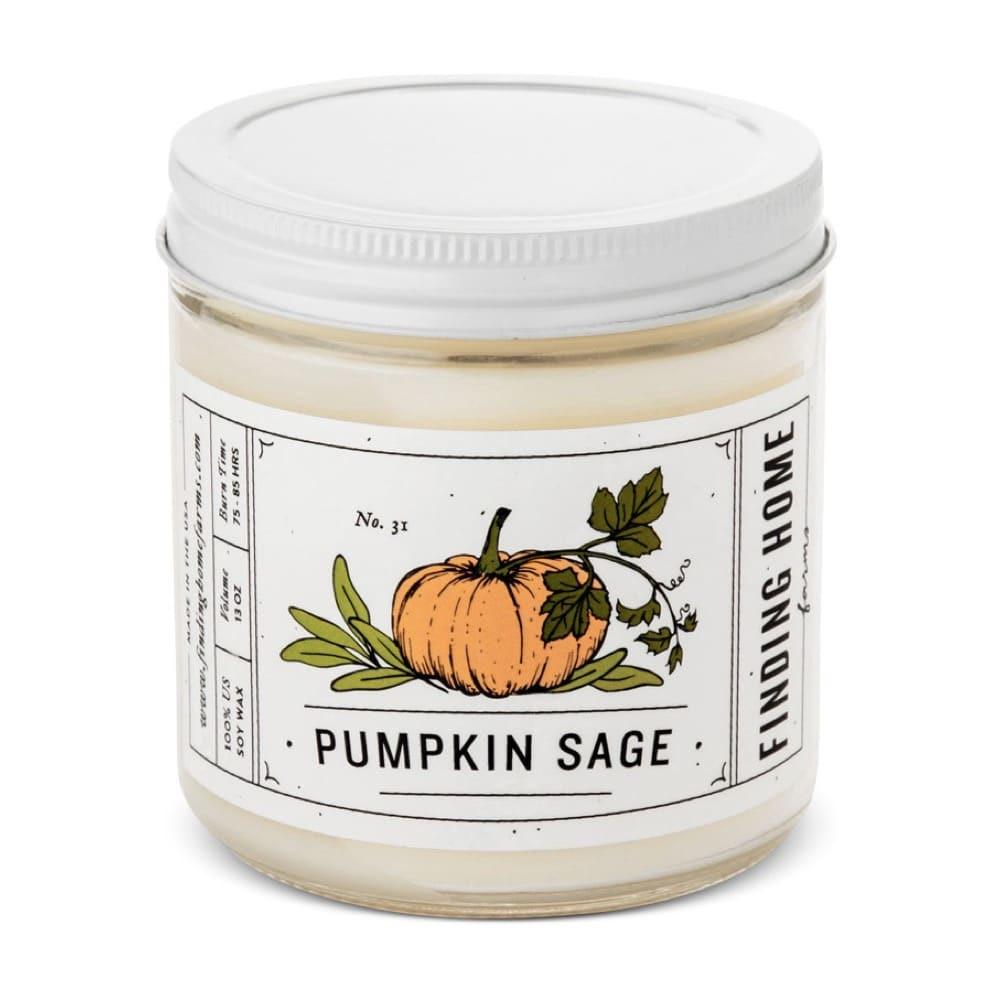 Pumpkin Sage Candle, 13 oz