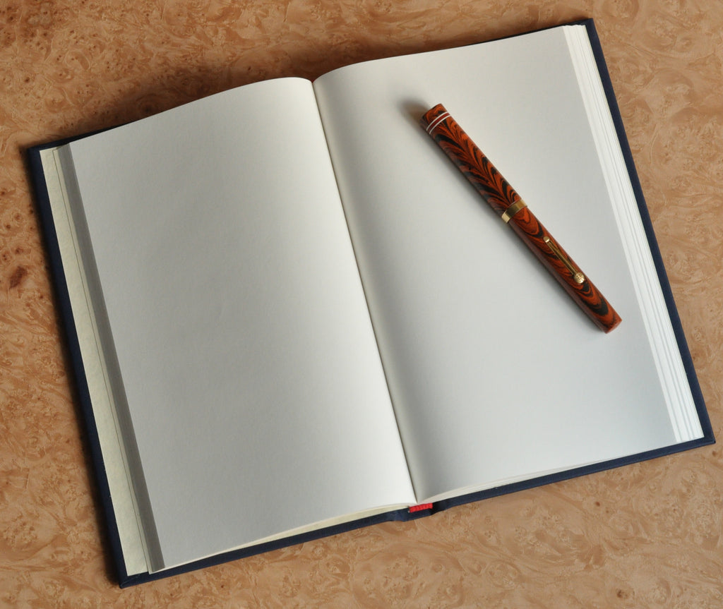 New Year's Edition Blank Book: (374 pages)—CREAM or WHITE Tomoe River Paper