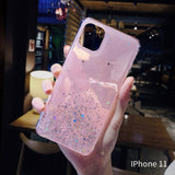 Star Glitter IPhone Case