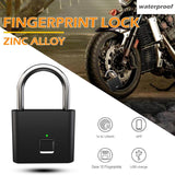 Smart Keyless Fingerprint Padlock