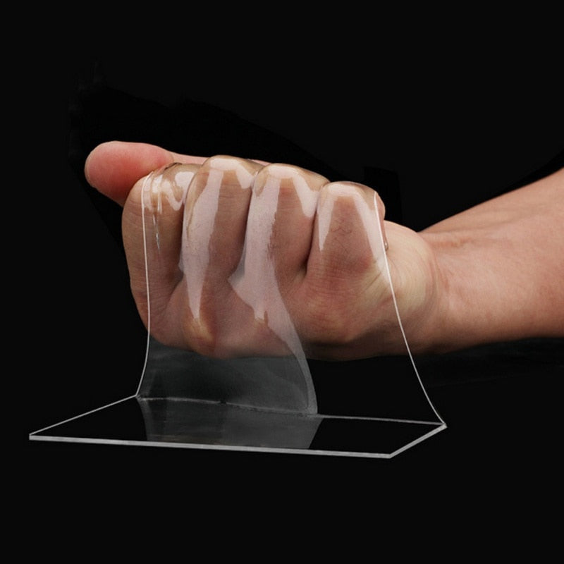 Transparent Double-Sided  Magic Nano-Tape