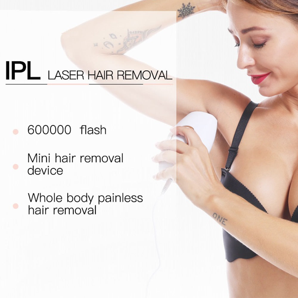 600000 Flash Permanent Hair Remover