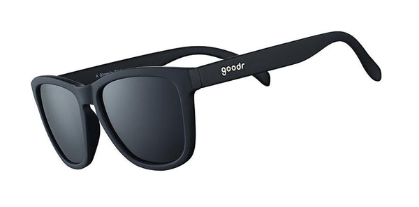 A Ginger's Soul Black Polarised goodr Sunglasses Side View
